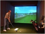 模擬高爾夫系統安裝簡單故障率非常低您理想的選擇