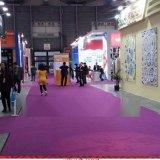 工廠供應各種平面展會地毯/阻燃拉絨地毯/車展紅地毯