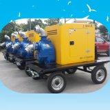 6寸8寸农田灌溉柴油机水泵 12寸应急移动泵