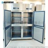 304不鏽鋼立式商用冰櫃