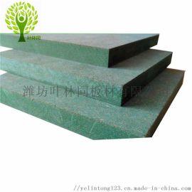 山东密度板厂家供应绿芯防水防潮密度板绿色防潮纤维板
