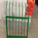 新鄉綠色金屬護欄 鋼筋隔離圍欄 折彎鐵藝護欄