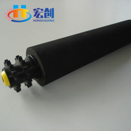 输送线转弯锥度滚筒|不锈钢链轮动力锥度滚筒