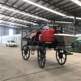 四轮小麦打药机 农作物打药机厂家