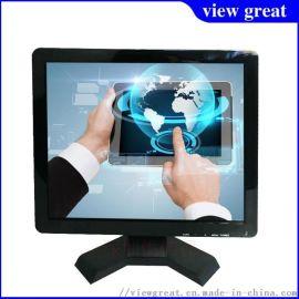 15寸 车载工业高清电脑液晶显示器 安防监视器