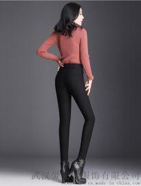 哪儿走份女装洛羽莎18年冬装新款高腰棉裤