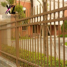 工厂围墙护栏、铁艺围栏、锌钢铁艺护栏