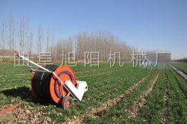 直销旭阳大型喷灌设备农用绞盘式浇地机