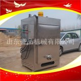 諸城魚豆腐燻蒸箱出口國外大型木箱包裝糖薰煙燻爐