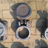 优质圆形水库铸铁拍门,污水处理拍门型号