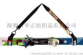 厂家定制 滑雪板绑带肩带 滑雪绑带魔术贴