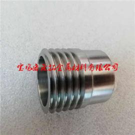 TZM钼钛锆螺丝接头管 M30钼螺纹管 钼合金配件