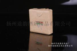 牛皮纸香皂,外贸酒店牛皮纸香皂手工皂,一次性香皂