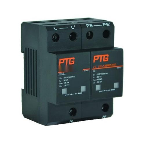 PTG供电系统大通流量SPD-2级PE385-80W2-11R-B防雷器