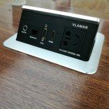 唯立玛办公桌面插座 国标电源插座