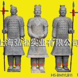 兵马俑工艺品 家居办公装饰品 仿青石兵马俑摆件