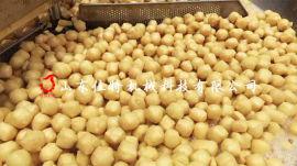 油豆腐油炸生产线 多区控温油炸流水线