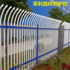 喷塑锌钢护栏,防攀爬锌钢护栏网、成都道路锌钢护栏