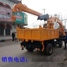 供应寿材背棺吊 多功能吊挖一体机 3吨棺材下葬车
