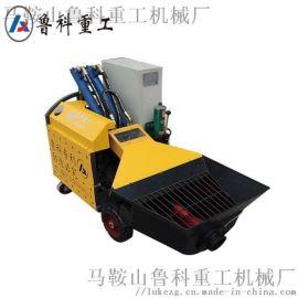 鲁科重工二次结构输送泵 建楼厂房液压二次结构输送泵