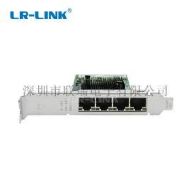 联瑞 工控机网卡LR-LINK 四口网卡