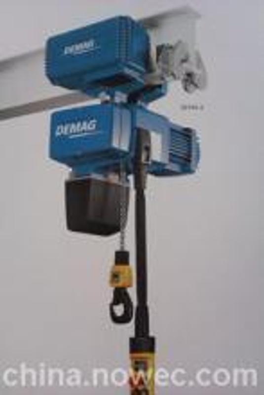 德國德馬格環鏈電動葫蘆 德馬格DEMAG鋼絲繩電動葫蘆
