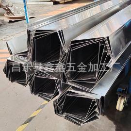 天津定制雨水槽哪家质量好 哪里能定制铝合金天沟