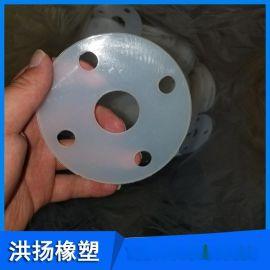 半透明硅胶胶垫 圆形硅胶垫片 白色硅胶胶垫