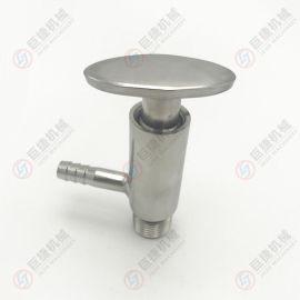 定制外丝手动取样阀-外丝取样阀、卫生级采样阀