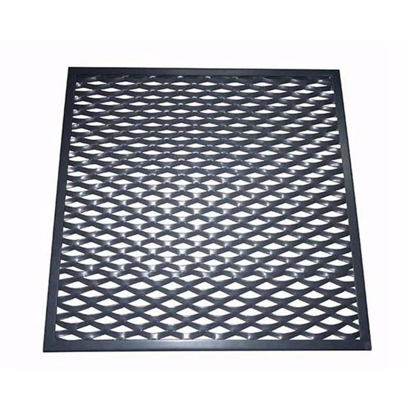 鋁網板金屬鋁網格護欄網廠家直銷定製
