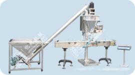钦典超强洗衣粉电子称粉末包装机饲料5000克半自动充填粉剂包装机