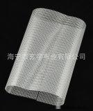 现货供应0.3mm厚,300*300DPVC透明夹网布拉链带用夹网布