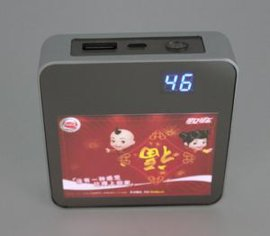灯箱移动电源、镜面移动电源、广告移动电源