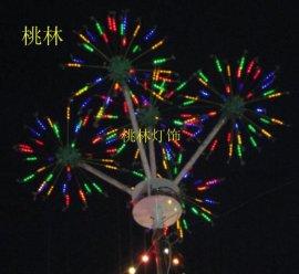 桃林  灯LED树灯发光树灯树椰树灯一体花装饰彩灯