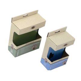 服装包装开窗贴PVC彩盒坑盒印刷厂