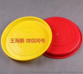 圆形小鸡开食盘 鸡用塑料开食盘 小鸡开食盘