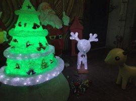 圣诞树 圣诞节装饰品 玻璃钢工艺品礼品落地摆件