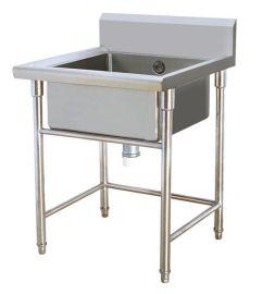 美远不锈钢厨房设备系列单星盆台