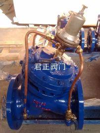 AX742X铸铁安全泄压阀 铸铁阀门 铸铁水力控制阀