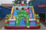 米菲兔充气城堡充气大滑梯充气游乐设备厂家