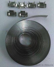 不锈钢扎带 不锈钢打包带 捆绑带绑扎带  五金扎带