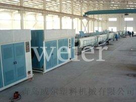 PE大口径塑料管设备生产线