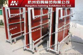 浙江杭州铝合金折叠舞台可定做高度移动升降带轮子婚庆舞台 折叠移动舞台
