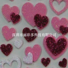 丽彩多供应手工DIY制作银粉金粉闪粉纸花材料贺卡装饰材料彩色金葱粉