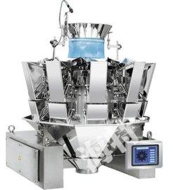 防水型10头电脑组合秤,定量包装秤,食品包装机