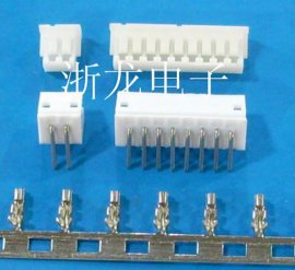 ZH1.5mm胶壳插头、弯针座插座90度,端子,条形连接器,接插件
