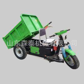 建筑工地柴油三轮车 农用自卸翻斗车 载重运输工程三轮车厂家