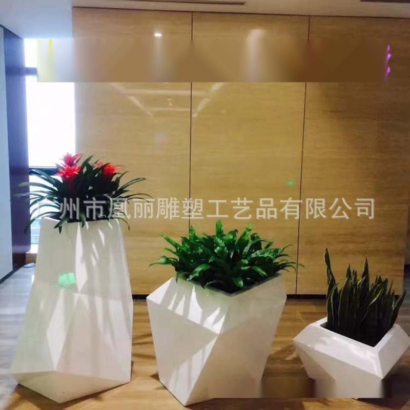 欧式花箱 玻璃钢立体组合 时尚花盆 工艺生产厂家专业质量保证
