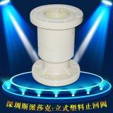 RPP/CPVC/UPVC耐酸碱塑料法兰立式止回阀H44X-10SDN20 32 40 50