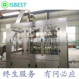 厂家供应 玻璃瓶汽水灌装设备/玻璃瓶可乐灌装设备